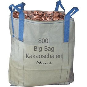 Grobe Kakaoschalen Big Bag