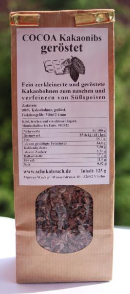 Kakaonibs 125 g Beutel
