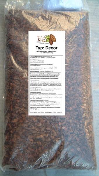 Kakaoschalen Dekor